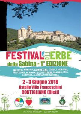 Festival delle erbe della Sabina